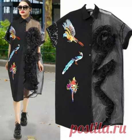 Креативное платье Модная одежда и дизайн интерьера своими руками