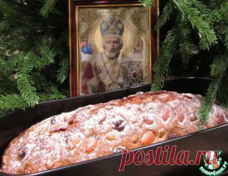 """Хлеб """"Святого Николая"""" – кулинарный рецепт"""