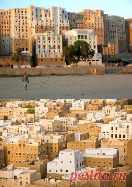 Шибам: город глиняных небоскребов (Йемен) — Путешествия