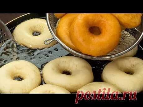 (44) С этим десертом невозможно ошибиться! Мой любимый рецепт пышных пончиков! | Appetitno.TV - YouTube