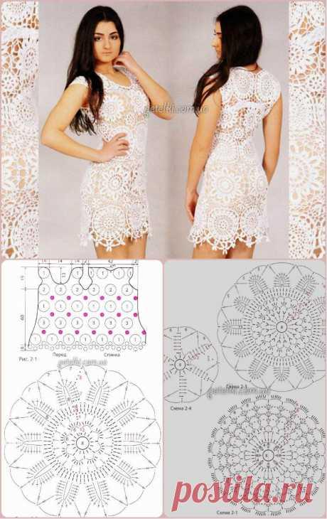 Цветочные мотивы для платьев — Сделай сам, идеи для творчества - DIY Ideas