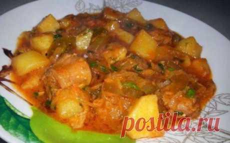 Азу по-татарски - ароматное и сытное блюдо для семьи! | Вперед✔огород | Яндекс Дзен