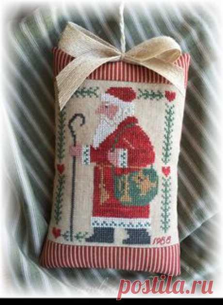 Вышивка крестиком бисером к НГ и Рождеству