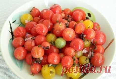 Малосольные помидоры черри быстрого приготовления ⋆ Кулинарная страничка