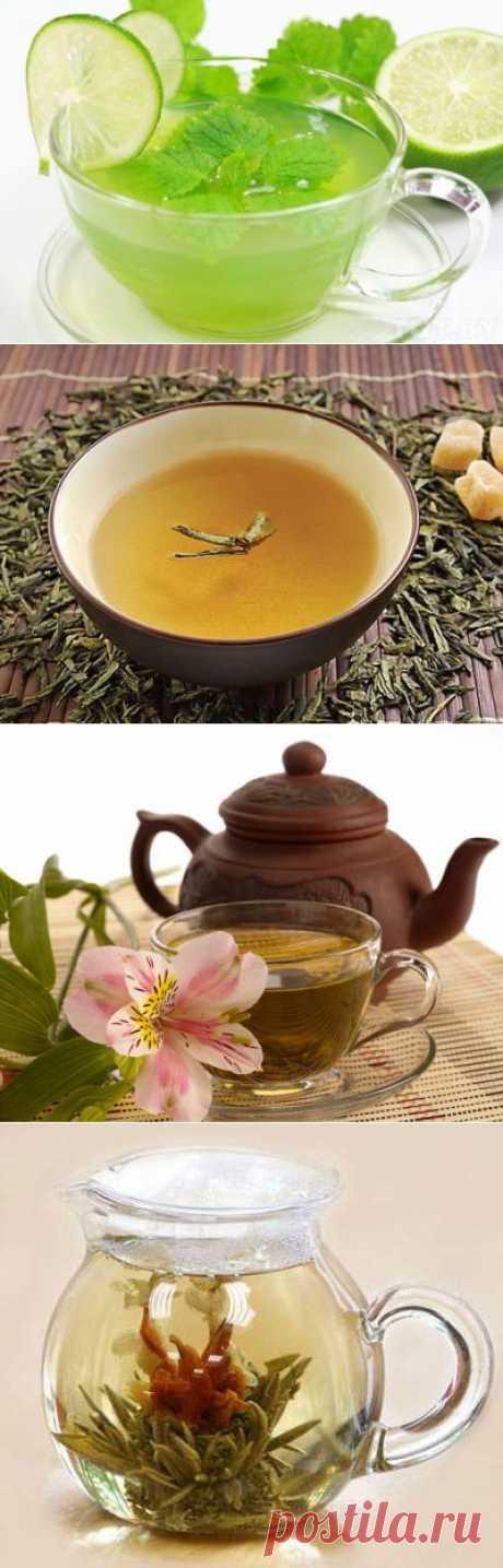 Зеленый чай: можно, но осторожно! / Домоседы