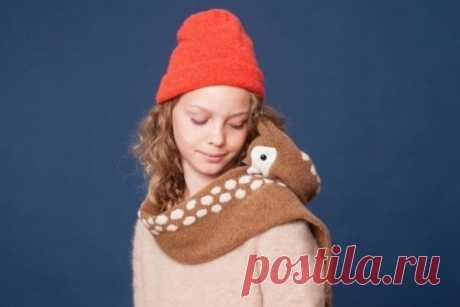 Сказочные шарфы от Нины Фёрер Дизайнер из Нидерландов Нина Фёрер (Nina Führer) стирает грань между метафорическим искусством и функциональной модой своими симпатичными шарфами-животными.