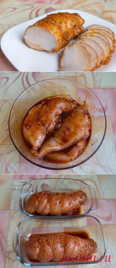 Как приготовить бастурма из курицы в духовке. - рецепт, ингридиенты и фотографии