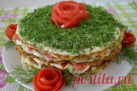 Торт из кабачков: лучшие рецепты с фото