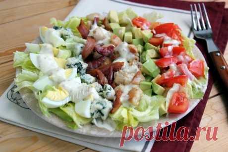Кобб салат, рецепт с фото