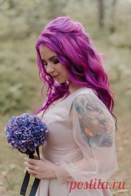 Необыкновенный сказочный цвет свадьбы 💜