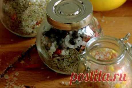 Домашняя вкусная соль