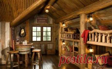 Creativity and cosiness: tremendous children's bedrooms in rustic style | my house