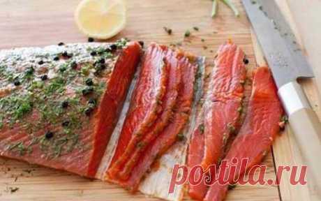 Быстрый засол красной рыбы. Аромат и нежнейший вкус Вам обеспечен!