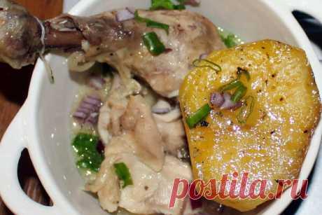 Курица в собственном соку, чтобы мясо разваливалось | Домашняя кухня | Яндекс Дзен