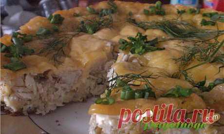 Рецепт рыбного торта » Вкусные рецепты салатов, выпечки и напитков, видео- и фоторецепты