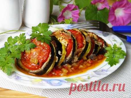 Рататуй (классический рецепт) - пошаговый рецепт с фото на Повар.ру