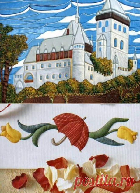 Equipment of a kinusayg: how to create a patchwork without needle to the beginning rukodlnitsa
