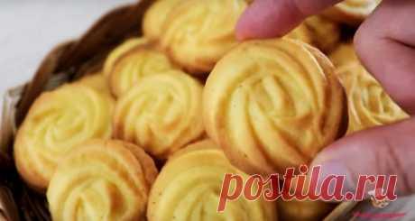 Вкусные печенья на масле - Лучший сайт кулинарии