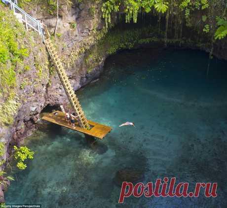 Райские места с самой прозрачной водой