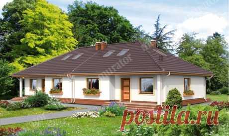 El proyecto de la casa БЦ11 Cerca de ti (los doma-mellizos) - proekty-muratordom.com