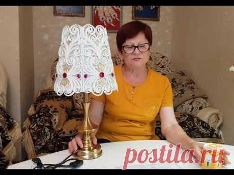 """Декор абажура"" Мастер Класс"