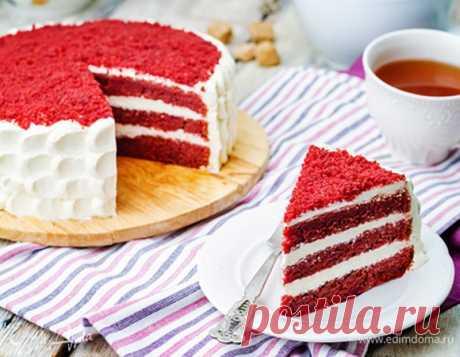 Как приготовить торт «Красный бархат»