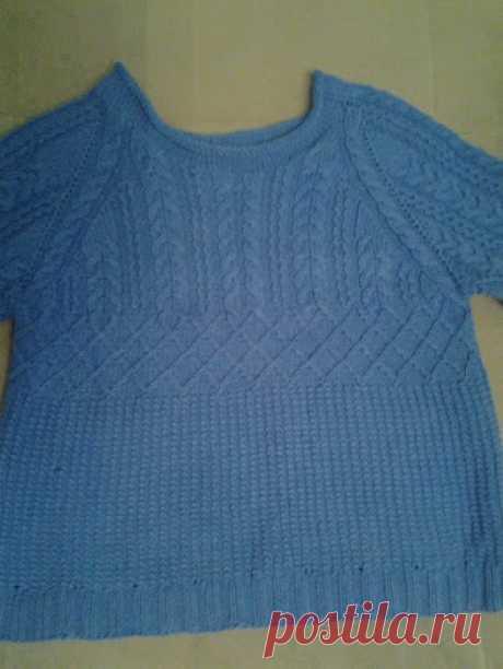 Стильный мужской пуловер от BURBERRY LONDON спицами Какая красота! А если женский  такой связать? Цвет выбрать какой-нибудь жизнерадостный? как вы думаете? Вот только я не умею без схем и выкроек(((