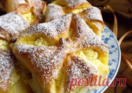 Сладкие булочки с творогом и изюмом. Просто восхитительно Приготовить такую вкусную и ароматную выпечку совсем несложно!