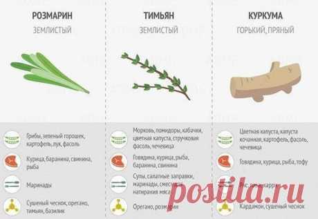 Используйте специи, и ваши блюда будут еще вкуснее!  #рецепты@thelady