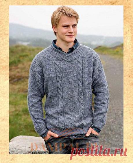 Мужской свитер «Sir Lancelot» | DAMские PALьчики. ru
