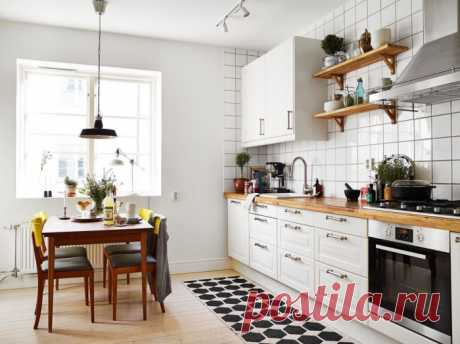Какой может быть деревянная кухня: 24 примера стильных интерьеров