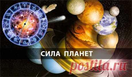 Определения силы планет в знаке и домах натальной карты.