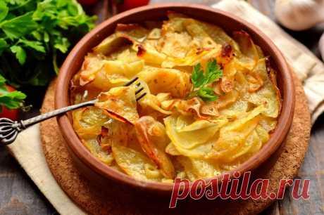 """Картофель """"Конфи"""" - изысканный вкус"""