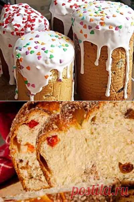 Самый вкусный кулич - рецепт для хлебопечки