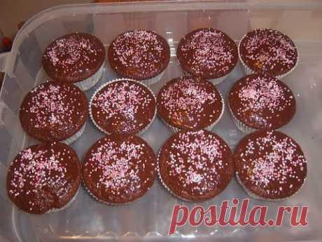 Шоколадные кексы в школу на день рожденье!