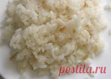 Научила меня готовить рис так, моя подруга, которая уехала в Турцию.