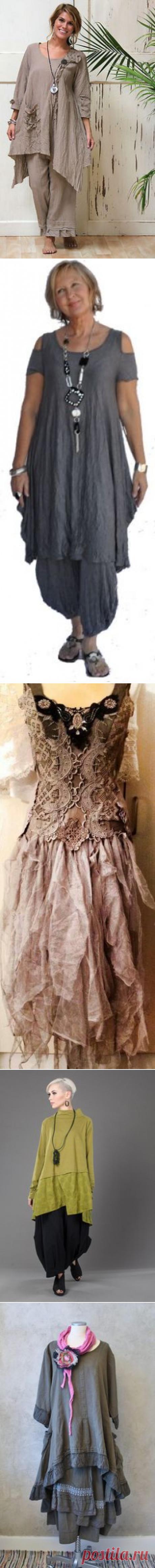 Одежда для любителей БОХО. | мода