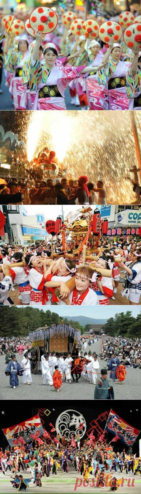 Фестивали в Японии: «спасательный трос» нации » Новости из Японии