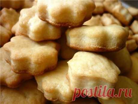 Печенье из плавленных сырков! Очень просто, вкусно и без сахара!