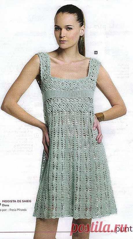 Сарафан крючком от PUNT & moda.