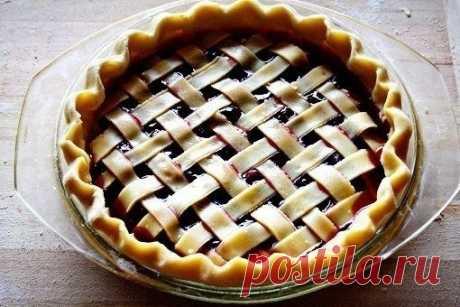 Как приготовить вишневый пирог. - рецепт, ингредиенты и фотографии