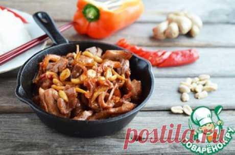 "Курица ""Гунбао"" и рис ""Гохан"" - кулинарный рецепт"