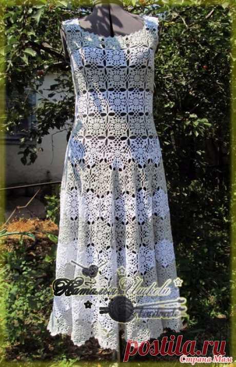 . Платье Лето - Все в ажуре... (вязание крючком) - Страна Мам