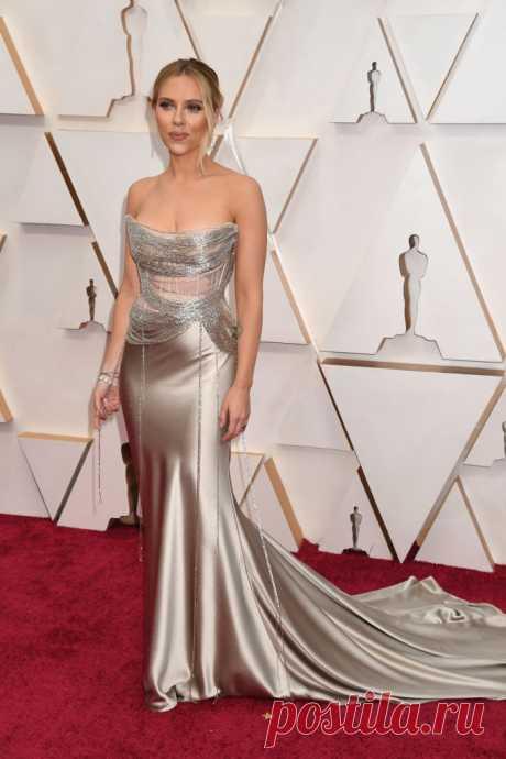 Скарлетт Йоханссон на премии «Оскар-2020» | VestiNewsRF.Ru