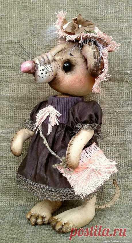 Крысята, авторская выкройка игрушки Ефимовой Веры / Мышка, крыса / Бэйбики. Куклы фото. Одежда для кукол