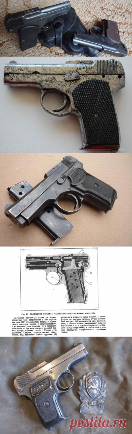Пистолет Коровина: тульский ТК, мелкокалиберный