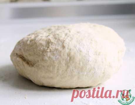 Тесто для пиццы – кулинарный рецепт