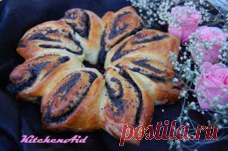 Маковый пирог по рецепту бабушки