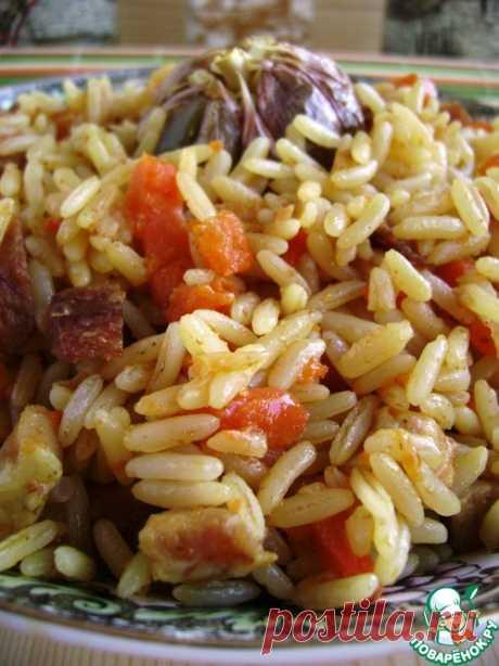 Очень ленивый «плов» - кулинарный рецепт