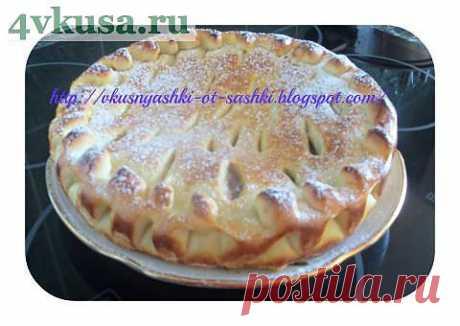 Пирог с повидлом | 4vkusa.ru